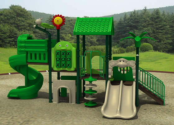 Forest Hideout commercial Playground Equipment