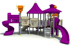 Commercial playgrounds for active kids