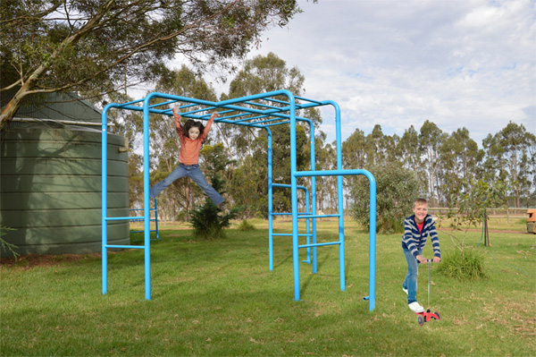Escape Monkey Bars Playground Equipment