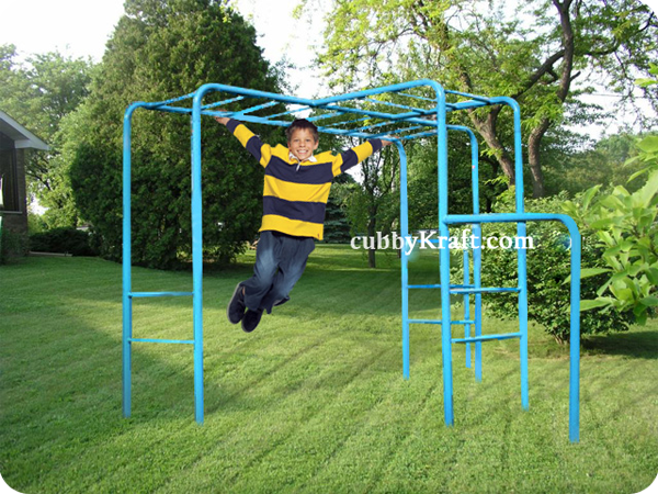 Escape Monkey Bars Playground Equipment From Cubbykraft