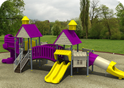 Double Trouble Playground - Playground Equipment