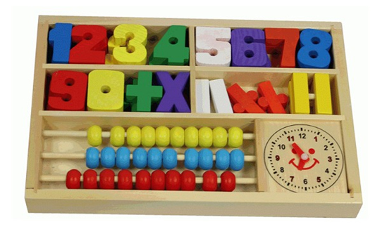 Toys For Learning Numbers : Wooden toys for cubby houses