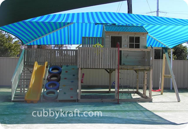 Timberwolf, cool tree houses, backyard playsets, cubby house, Timberwolf Cubby House