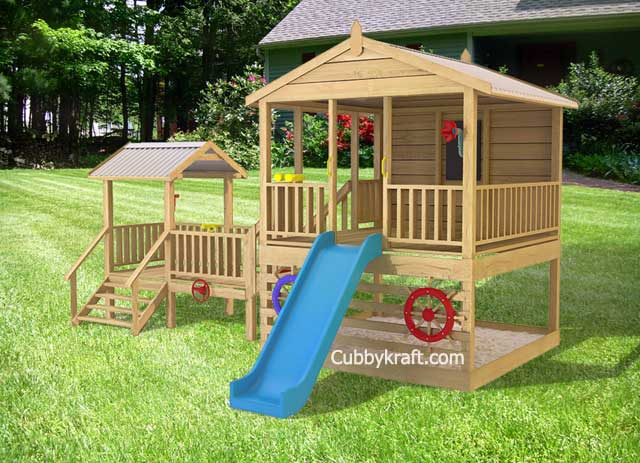 Attrayant Townsville Tower Cubby Fort Backyard Playhouses   Townsville Tower Cubby Fort  Backyard Playhouses By Cubbykraft