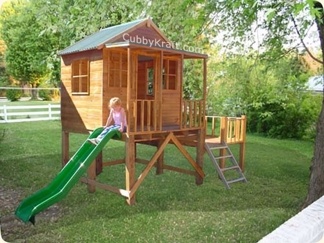 Eagles Nest, cool tree houses, backyard playsets, cubby house, Eagles Nest Cubby House