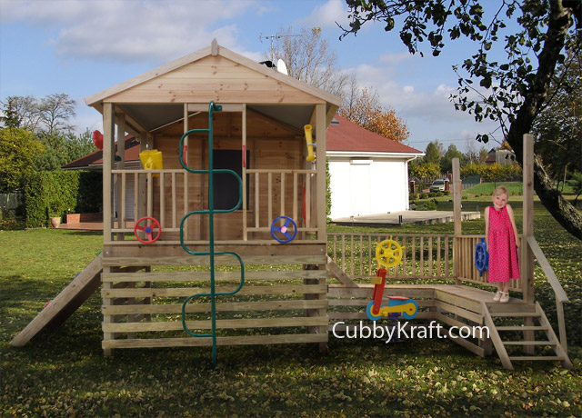 kids lay outside cubby fort outdoor toys