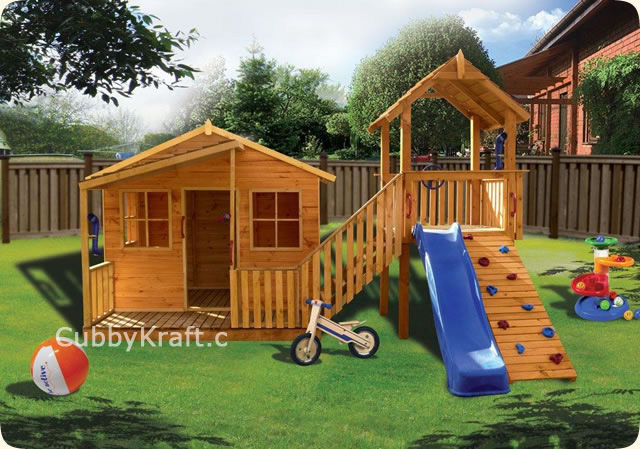 Kimba Castle, diy wooden playhouse, cubby house, Kimba Castle Cubby House