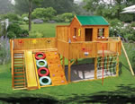 Timberwolf Cubby House, kids playground equipment