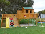 Timberwolf Cubby House, playground equipment