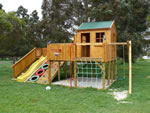Timberwolf Cubby House, backyard playground equipment