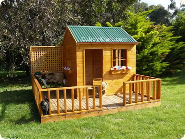 Mulberry Cottage, wooden cubby house, cubby house, Mulberry Cottage Cubby House