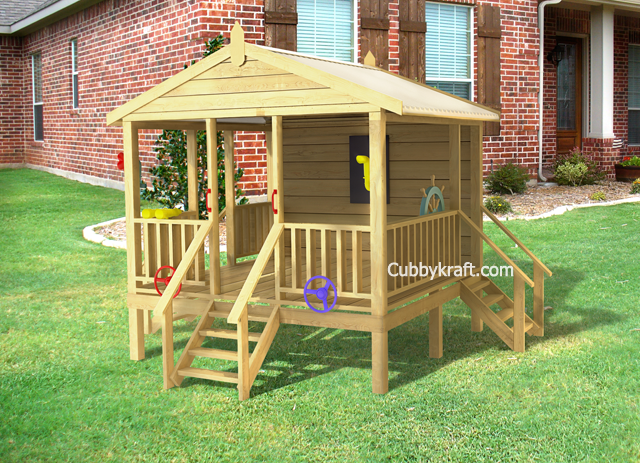Play Shack, cubby houses for sale, cubby house fort, Play Shack Cubby Fort