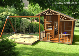 Alpine Swing Gym Cubby