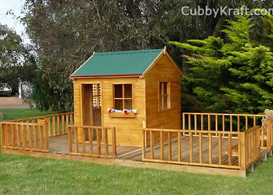 Teddy Bear Hollow Cubby House