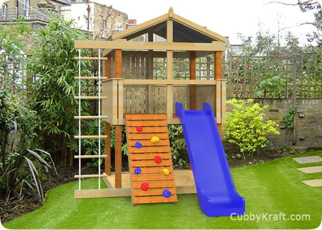 Turbo Tower Cubby House