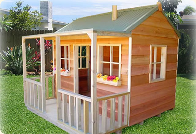 Wallaby Lodge Cubby House Home Playground Equipment by ...