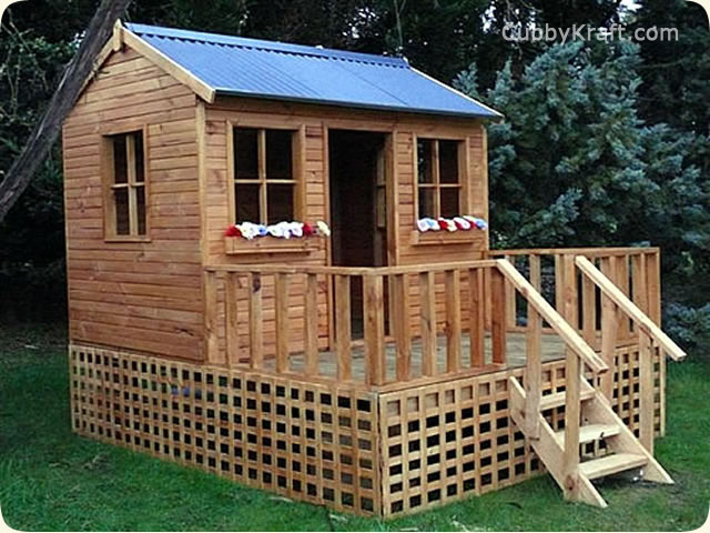 Wendy House Cottage, diy wooden playhouse, cubby house, Wendy House Cottage Cubby House