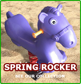 spring rockers, backyard toys